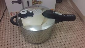 Tefal Secure 5 Stainless Steel Pressure Cooker - 6 L - new in box -