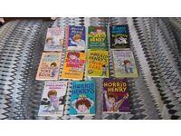 Kids Horrid Henry books