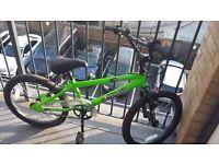 For Sale - BMX Green Boys Bike....