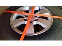 Mitsubishi L200 Warrior alloy wheels