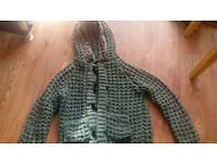 Womans grey sweater size 12