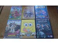 10 Dvds Toy story Kung fu Panda etc