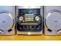 philips c170 mini hifi system Ideal for a shed or a garage