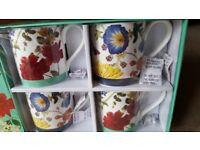 Fine China Mugs - Box Set (Royal Horticultural Society)