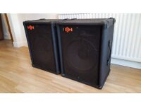 "HH 15"" speakers 200 watts 8 ohm in very good condition"