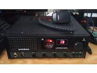 Uniden 300 80ch CB radio (plug in wall)