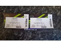 2 DISNEY ON ICE 100 YEARS TICKETS FOR 30TH MARCH 2017