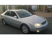 2001 ford mondeo 2.0 ghia x top spec model full mot drive away bargain