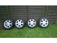 Ford alloys wheel's