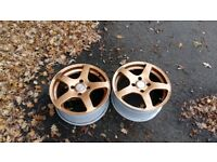 "Set of 16"" 4x108 7j wheels"