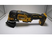 DeWalt DCS355 Brushless Multi Tool With Sand Paper Body Only. (46667)