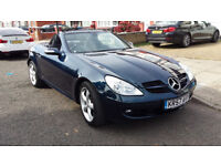 MERCEDES SLK 350 AUTO CONVERTIBLE (NEARLY 2008) DR OWNER FULL MERCEDES HISTORY SAT - NAV IMMCULATE