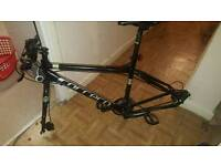 Carera Hybrid, 2 months old road/mountain bike FRAME ONLY - QUICK SALE