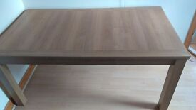Next extendable dining table 4 chairs