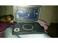 Portable dvd player used twice