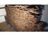 Reclaimed Pine Parquet Flooring - 25 square meters
