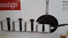 Prestige 5 piece Cookware set BNIB