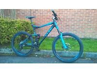 "Cube Fritzz 160 HPA Pro 27.5 Mountain Bike 2014 - Full Suspension MTB (X-Large 22"")"