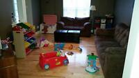 "Home Based Child Care ""A Day Away Time to To Play"""