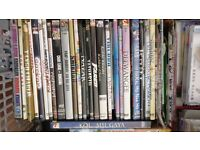 200 DVDs for sale, all from personal collection include English, Indian, URDU, Songs, darama.