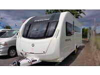 Sterling (Swift) Eccles Quartz SE - 4 Berth Touring Caravan