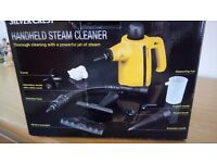 Silver Crest Handheld Steam Cleaner - as new