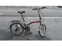 "Terrain i-Fold 20"" Folding Bike"