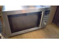Morphy Richards 3 in 1 combination oven, microwave, grill, convection. stainless steel