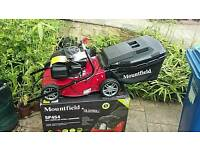 Brand new MOUNTFIELD SP454 self propelled lawn mower never used ex stock