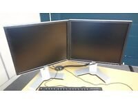 DELL 19 INCH SCREENS WITH VGA OR DVI CABLE URGENT SALE NEEDED