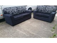 BRAND NEW FABRIC 3 SEATER £349 GET 2 SEATER FREE HAND MADE AMAZING QUALITY AMAZING PRICE