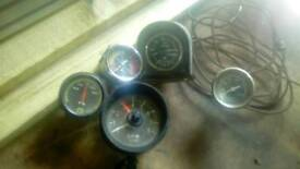 Clock for older cars