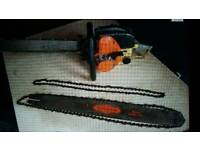 Vintage solo chain saw fully serviced