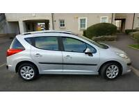 Peugeot 207 2008 1.4 estate recent service swap sell px