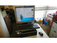HP COMPAQ 6000 PRO DUAL CORE WINDOWS 7 DESKTOP COMPUTER