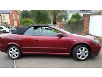 VAUXHALL ASTRA CONVERTIBLE, 12MONTHS MOT, SERVICE HISTORY, CHEAP ON FUEL TAX , TIDY,CD, £675 ONO
