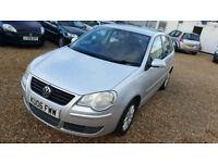 2006 VolksWagen Polo 1.4 TDI 5dr ,Hpi Clear,2 keys,FSH- last at 99k, Mot, Cheap Road tax&insurance