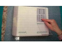 Burglar Alarm Kit Micromark Wireless 7 Zone Boxed with manual.