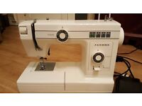 Janome sewing machine in super condition.