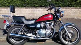 SUZUKI GS850GL VERY GOOD CONDITION WITH LUGGEGE