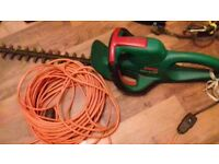 Hedge trimmer and grass strimmer