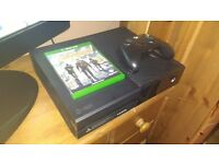 Xbox one with Tom Clancy divison,boxed