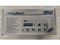 Digitech RP6 Guitar Affects Processor