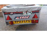 Erde 101 trailer excellent condition