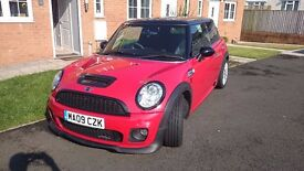 Mini John Cooper Works, 3 door hatch, 2009, Chili Red
