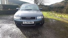 Audi A4 Avant 1.9tdi, mot til Oct 17.