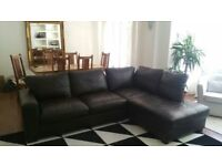 Beautiful leather sofa