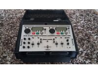 newmark cd mix 2 professional cd mixing console in case