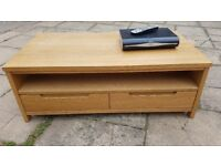 Oak effect Television Stand
