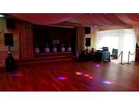 Wedding party entertainment package and dj